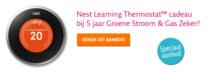 Nest Learning Thermostat™ - speciaal aanbod