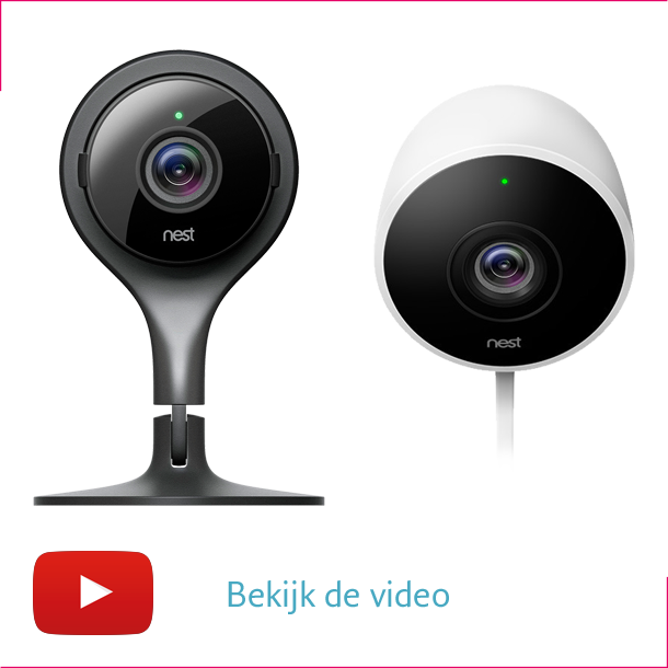 Nest Cam Indoor en Nest Cam Outdoor